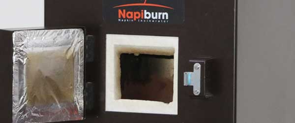 sanitary-napkin-burning-machine-thermal-protection-feature